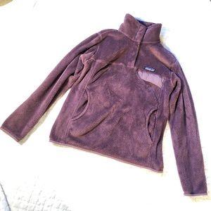 Patagonia dusty purple retool snap t/S